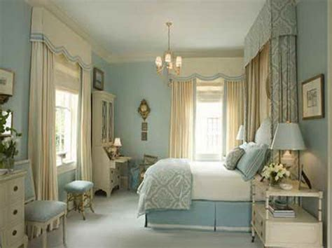 Bedroom  Color Schemes Bedrooms With Nice Curtain Color
