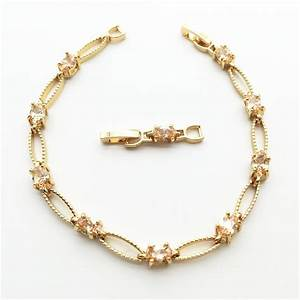 Free shipping !! Zircon Bracelet Unique Design Luxury ...