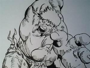Drawing Hulk - YouTube