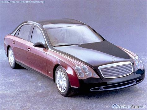 Maybach Concept by 1997 Mercedes Maybach Concept Mercedes