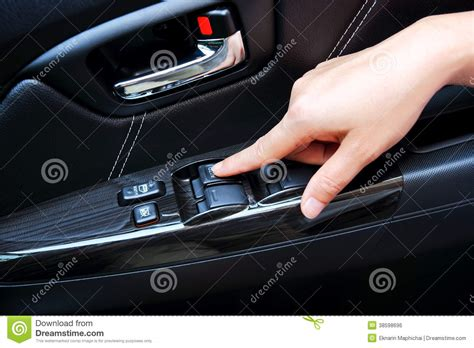 Car Window Control Royalty Free Stock Image