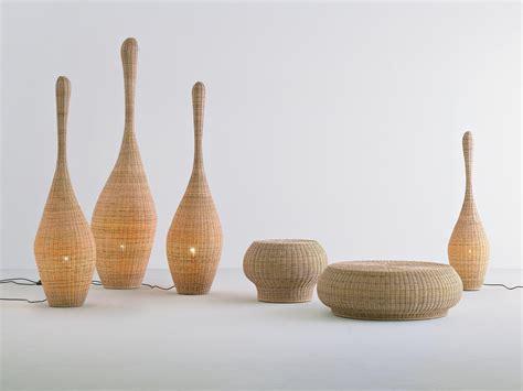 Rattan Lamp by Bolla Lampadaire By Gervasoni Design Michael Sodeau