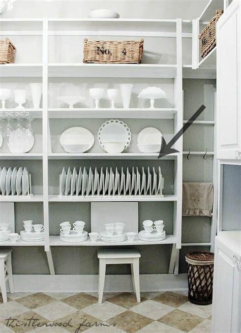 easy   diy plate display rack butler pantry home shelves