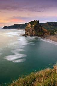 Lion Rock Piha Beach New Zealand