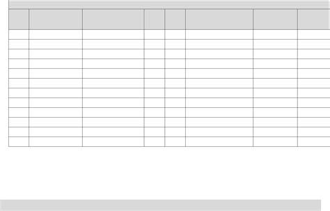 electrical tag  test register form  word   formats