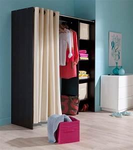 Dressing Rideau Ikea : idee deco placard rideau ~ Dallasstarsshop.com Idées de Décoration