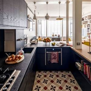 Aménagement Cuisine En U : cuisine en u id es d 39 am nagement c t maison ~ Melissatoandfro.com Idées de Décoration