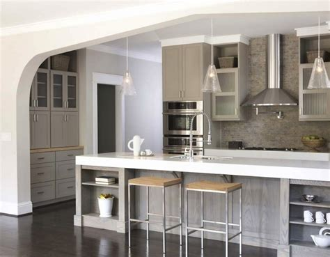 taupe kitchen contemporary kitchen sherwin williams pavestone gray terracotta studio