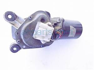 1992 Nissan 240sx Front Arms Windshield Wiper Motor B8810