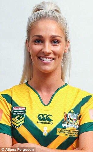 new zealand actress in game of thrones rugby league player allana ferguson is often mistaken for