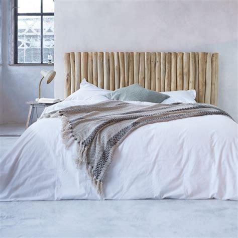 t 234 te de lit en teck flott 233 180cm mobilier pour la chambre tikamoon