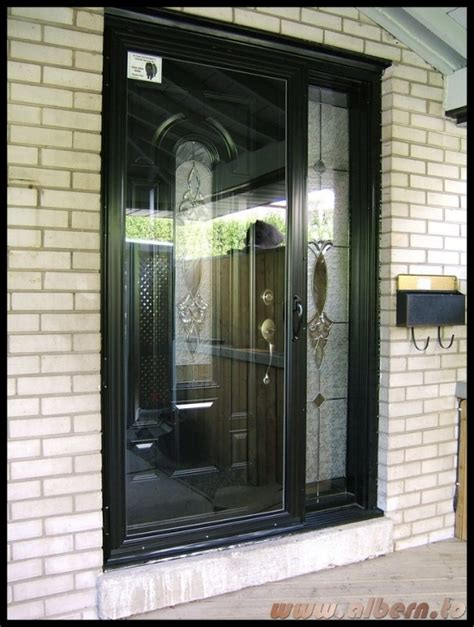black storm door  storm door picture doorblack