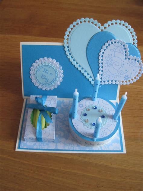 hobbyhelga mooie taartkaarten voor de geboorte van een