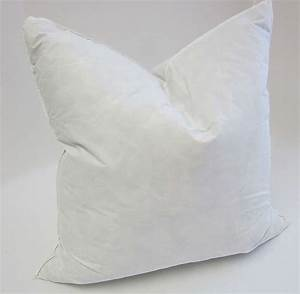 Lush plush trends from fabriccom pillow insert for Drying feather pillows