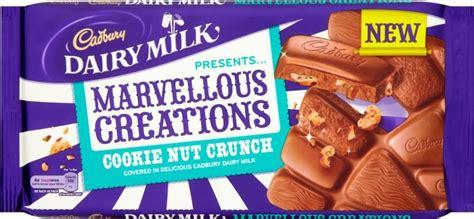cadbury dairy milk 4 caramel 200g cadbury dairy milk marvellous creations cookie nut crunch