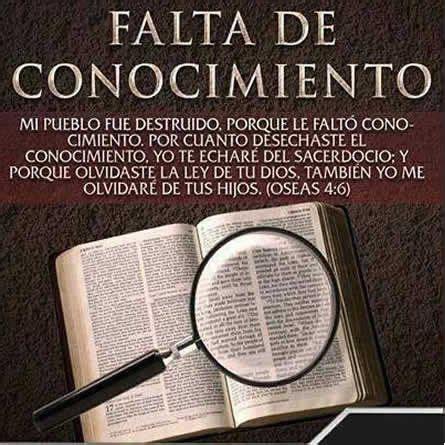imagenes biblicas la falta de conocimiento biblia pinterest