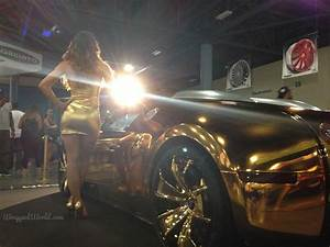 Definition Of Ghastly: Flo Rida's Gold Chrome Bugatti Veyron