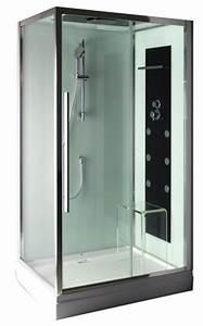 Cabine De Douche 170x80 : cabine de douche rectangulaire avec porte coulissante ~ Edinachiropracticcenter.com Idées de Décoration