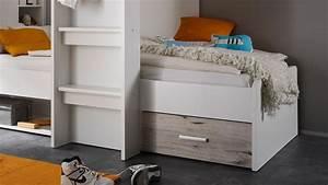Hochbett 90x200 Weiß : hochbett maxi kinder etagenbett in wei und sandeiche 90x200 ~ Indierocktalk.com Haus und Dekorationen