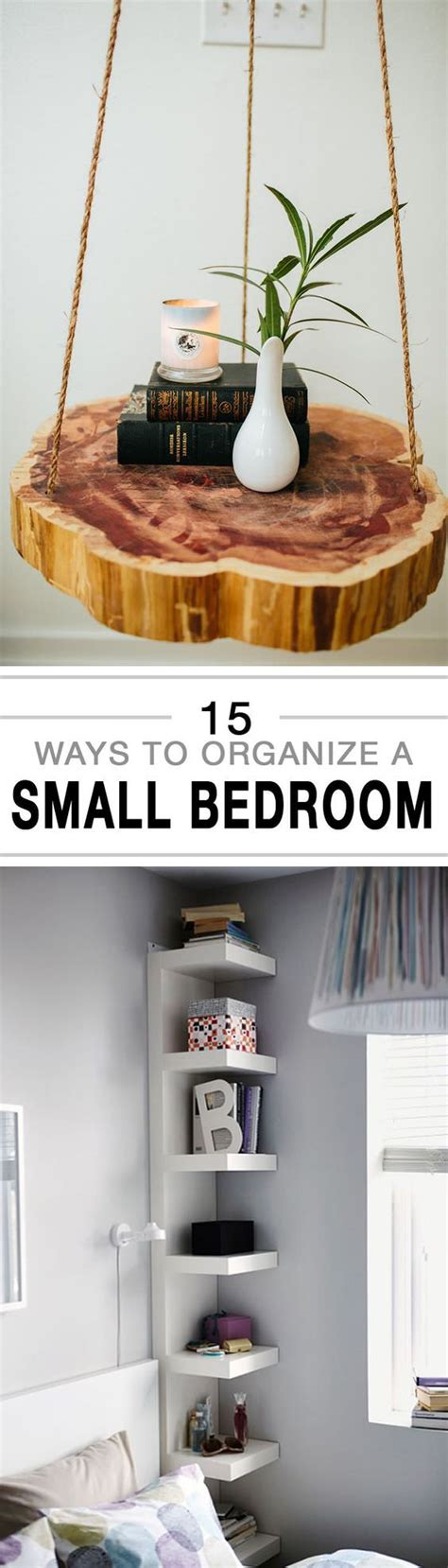 ways  organize  small bedroom house good