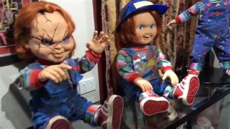 life size chucky  good guys doll collection childs play