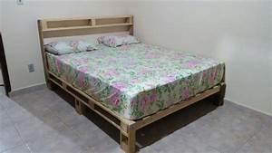 42 DIY Recycled Pallet Bed Frame Designs 101 Pallet