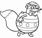 Dora Coloring Explorer Swiper Easter Egg Inside Sheets Printable Fresh Netart Getcolorings sketch template