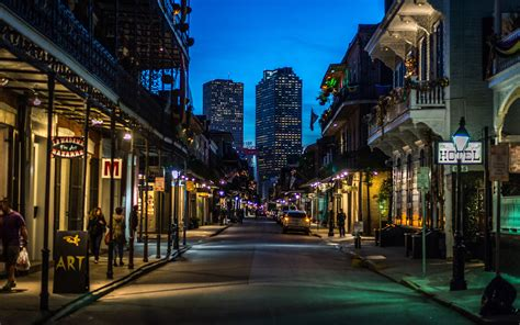 New Orleans by Quarter In New Orleans Thousand Wonders