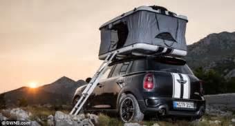 Mini Clubvan Camper Mini Unveils The World's Smallest