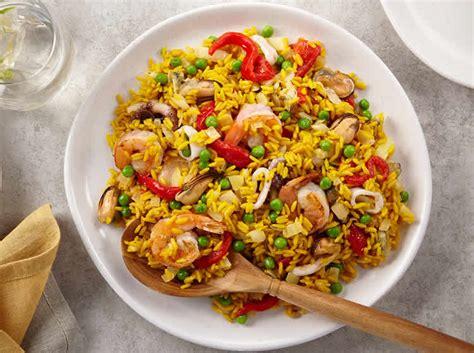 riz  fruits de mer au cookeo plat pour votre diner