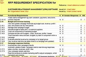 revised crm rfi rfp templates released by axia axia With crm requirements template