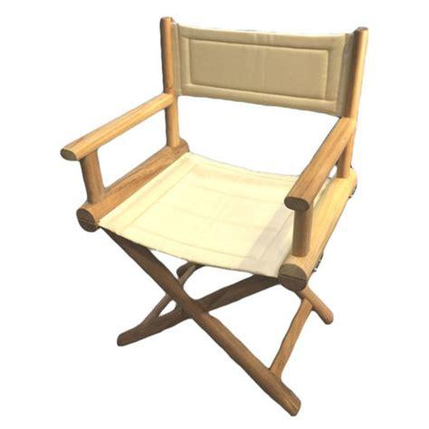 teak folding directors chairs marine