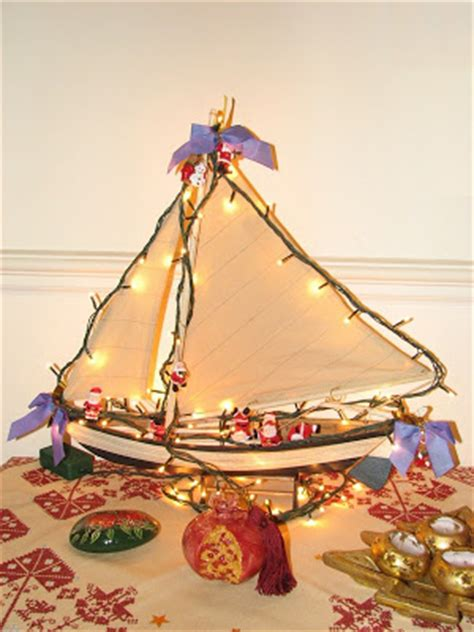 christmas decoration in greece greeker than the greeks customs traditions boat karavaki
