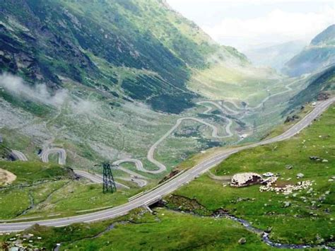 romanias high altitude road transfagarasan reopens