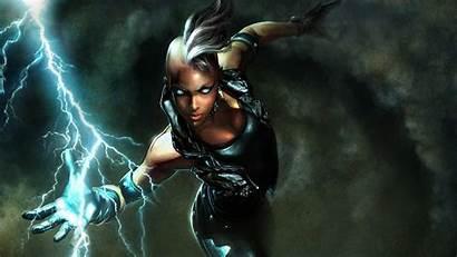Storm Marvel Fantasy Comics Character Superheroines Wallpapers