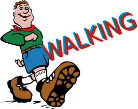 Cartoon Shoes Walking Clip Art