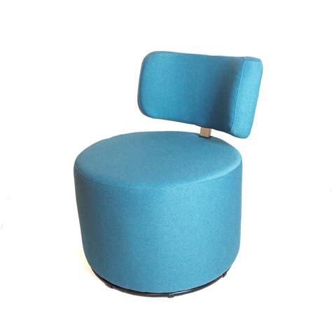 fauteuil mokka sits rond et pivotant