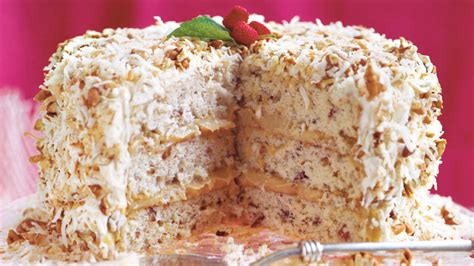 caramel cream cake luscious layer cakes southern living
