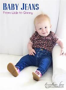 Baby Skinny Jeans Tutorial - Honeybear Lane