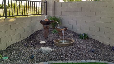 Landscape Design For Small Backyard by Small Backyard Landscaping Az Living Landscape Design