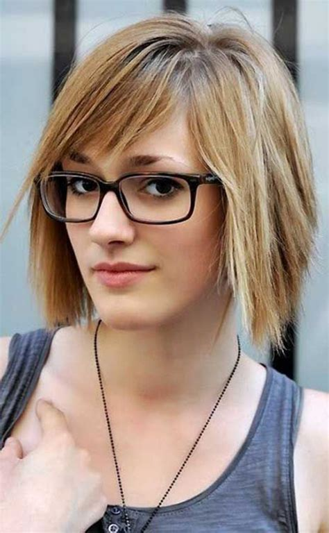 S Layered Hairstyles by 20 Best Hairstyles For With Glasses Hairstyles
