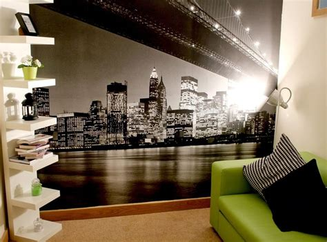 Decorating Ideas New York Style by New York Bedroom Theme Home Decor