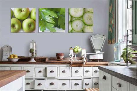 triptyque cuisine des tableaux muraux modernes et stylés pour décorer sa