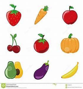 Healthy food icons stock vector. Illustration of ...