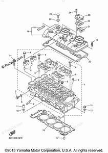 Yamaha Motorcycle 2009 Oem Parts Diagram For Cylinder