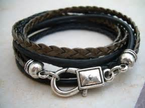 antique wedding dresses leather bracelet wrap unisex mens womens mens