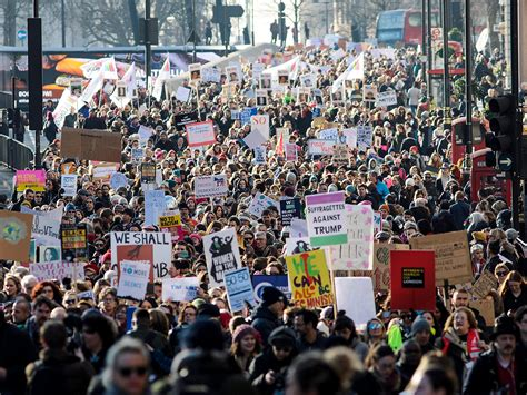 womens march  protest  london  donald
