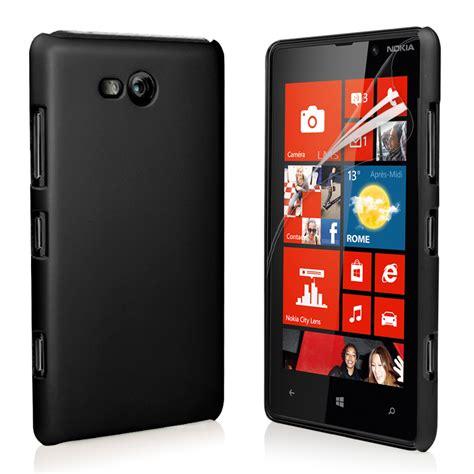 black hybrid cover for nokia lumia 820 screen protector ebay