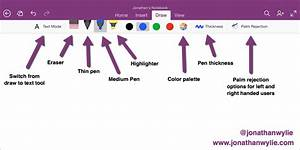 How To Use The Onenote For Ipad Drawing Tools  U2013 Jonathan Wylie