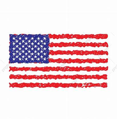 Flag American Grunge Vector Usa Clipart Background